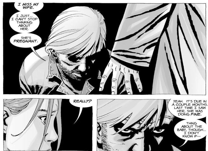 Rick Grimes Meets Alice Warren (The Walking Dead)