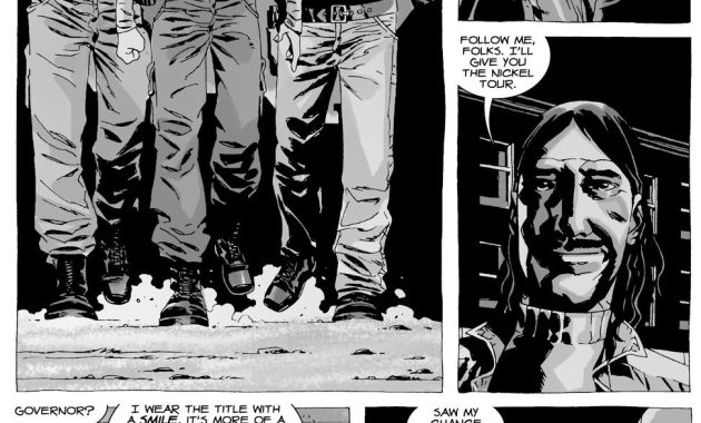 Rick Grimes Meets The Governor (The Walking Dead)