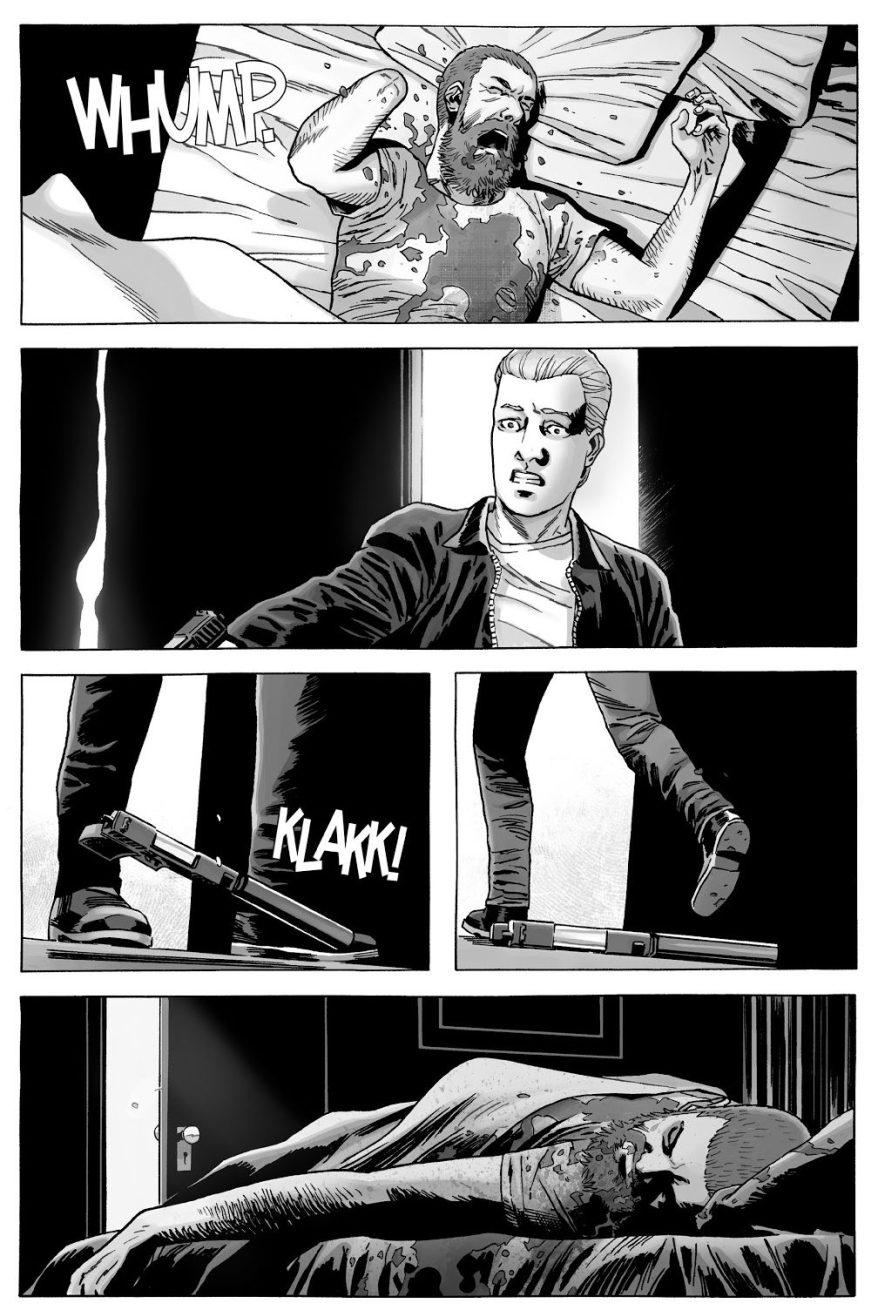 Sebastian Milton Kills Rick Grimes (The Walking Dead)