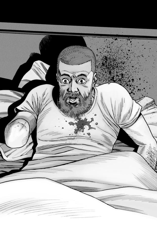 Sebastian Milton Shoots Rick Grimes (The Walking Dead)