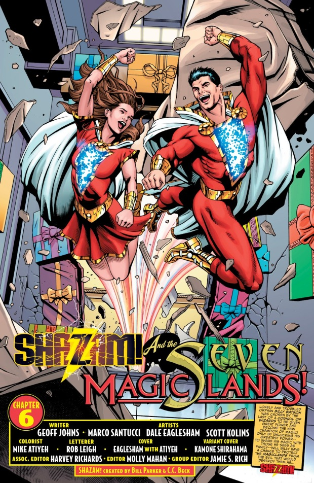 Shazam And Lady Shazam (Shazam Vol. 3 #6)