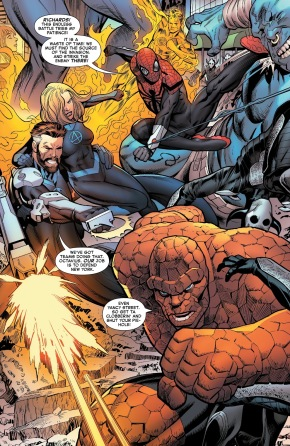 Superior Spider-Man And The Fantastic Four