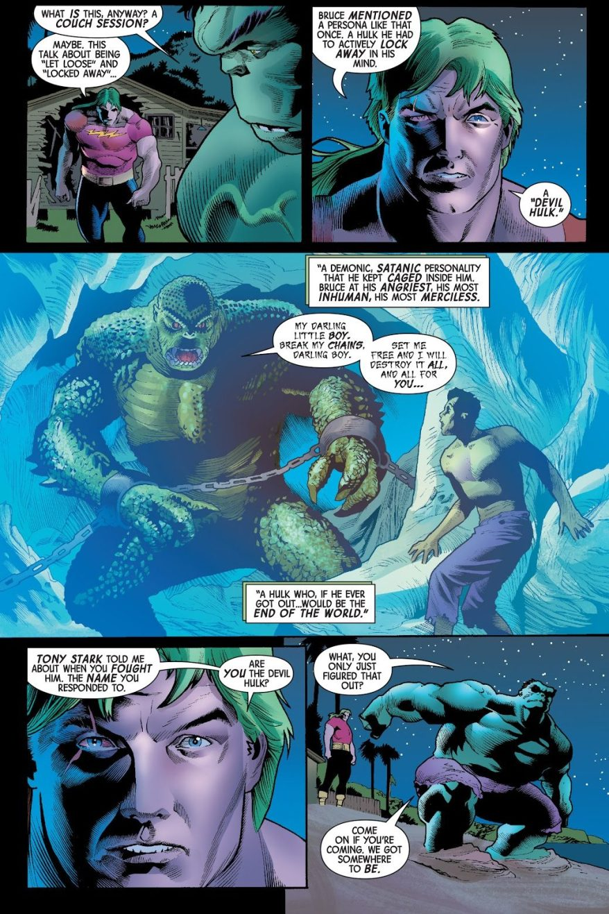 The Devil Hulk (The Immortal Hulk #15)