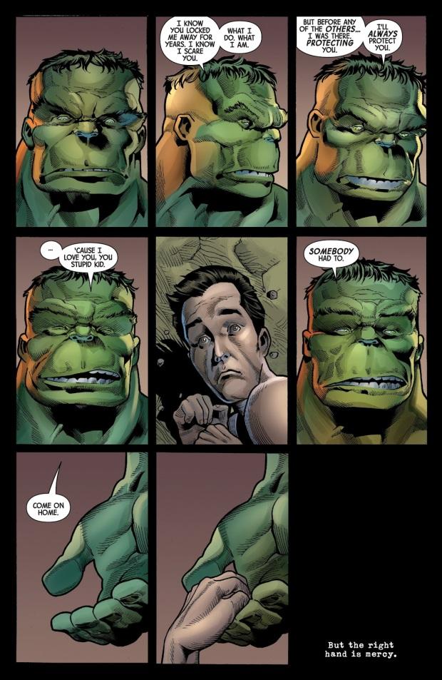 The Hulk Loves Bruce Banner