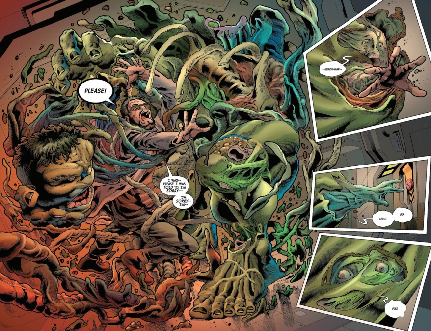 The Immortal Hulk Can Reassemble Himself