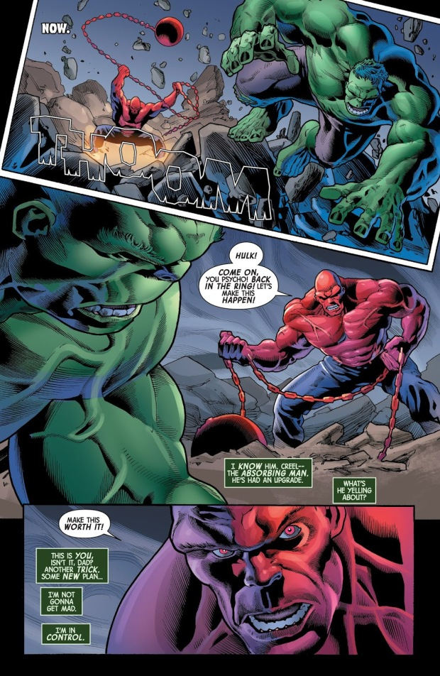 The Immortal Hulk VS The Absorbing Man | Comicnewbies Marvel Now Psylocke