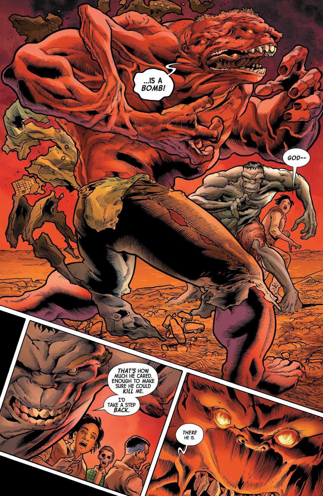The immortal hulk vs the red hulk comicnewbies - Pictures of red hulk ...
