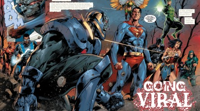 The Justice League Defeats Darkseid (DCeased)