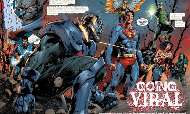 The Justice League Defeats Darkseid (DCeased)