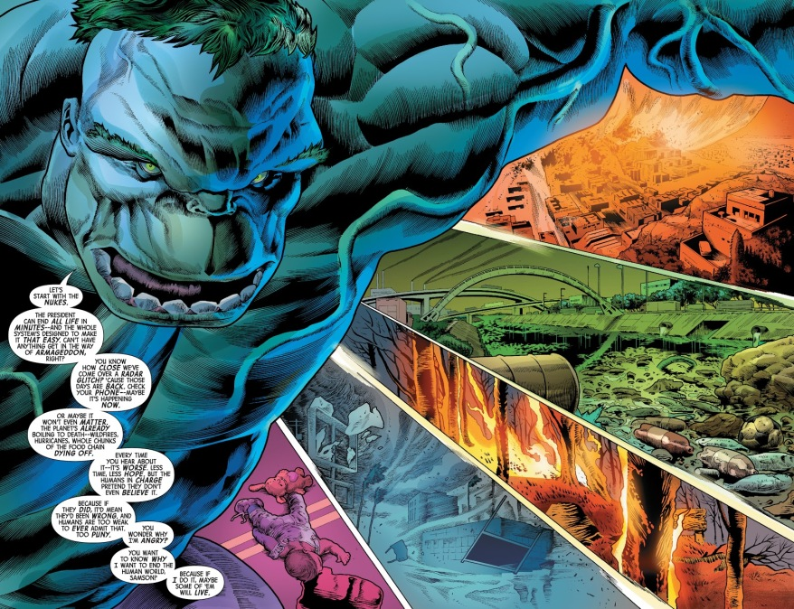 Why Devil Hulk Wants To End The World