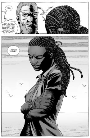 Why Michonne Doesn't Want To Be Happy (The Walking Dead)