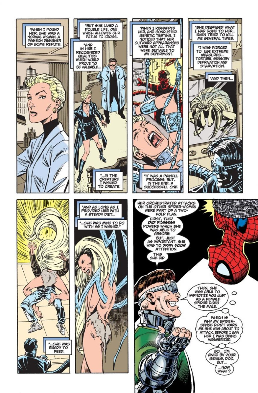 Doctor Octopus Creates A Spider-Woman