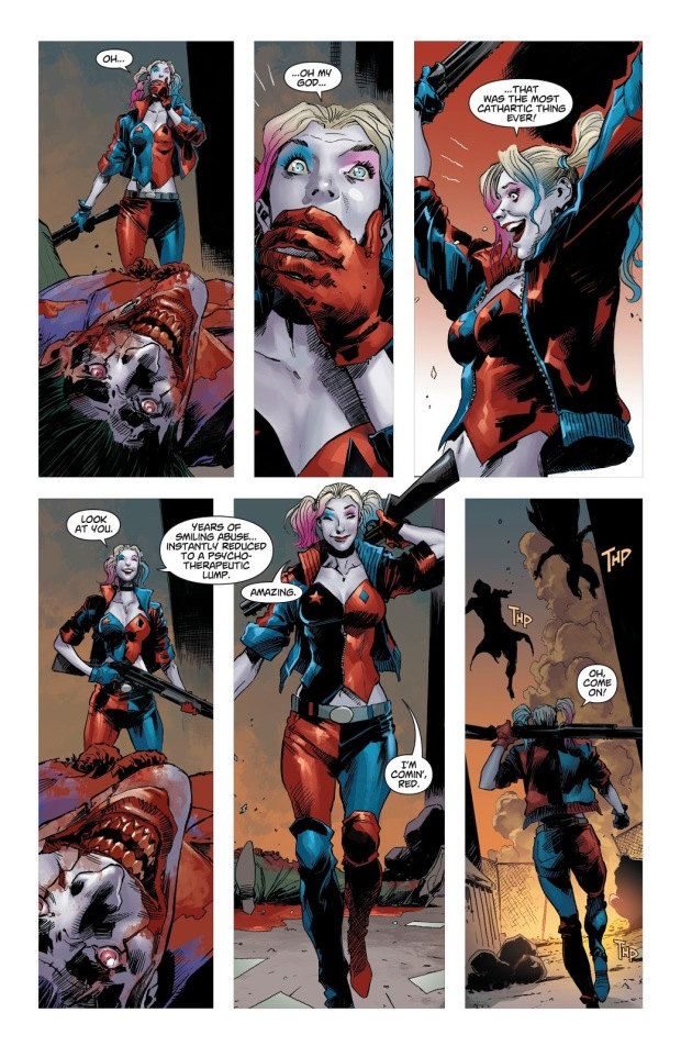 Harley Quinn Kills The Joker (DCeased)