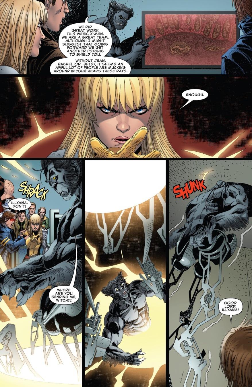 Magik Kills Dark Beast
