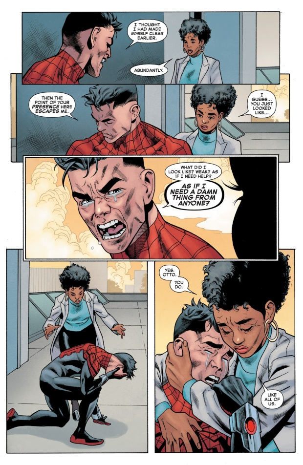 Spider-Man Gives Superior Spider-Man Life Advice