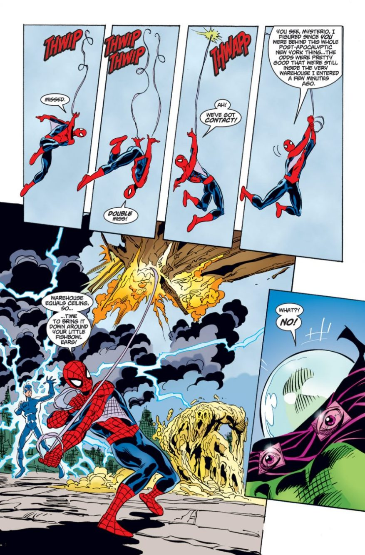 Spider-Man Saves Sandman From Mysterio – Comicnewbies