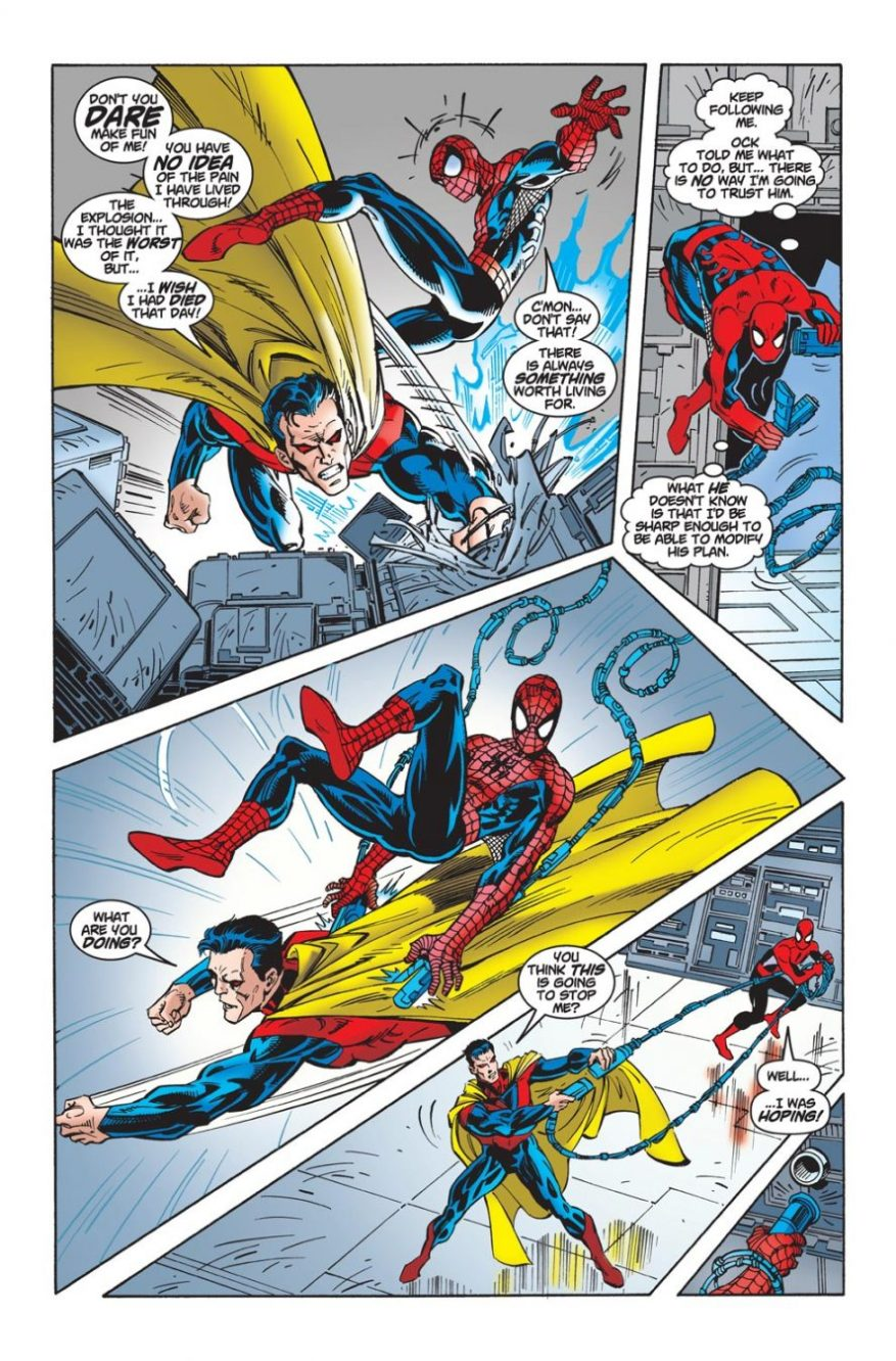 Spider-Man VS Captain Power