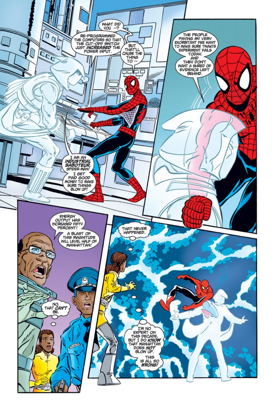 Spider-Man VS Ghost | Comicnewbies