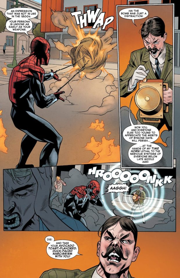 Superior Spider-Man VS Turner D Century