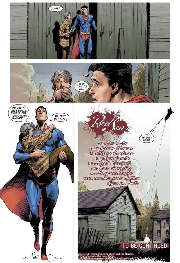 Superman's Father Becomes A Zombie (DCeased)