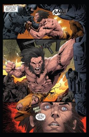 Wolverine Kills Velocidad