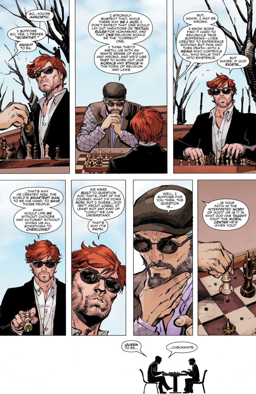 Daredevil And Mister Fantastic Talks About God