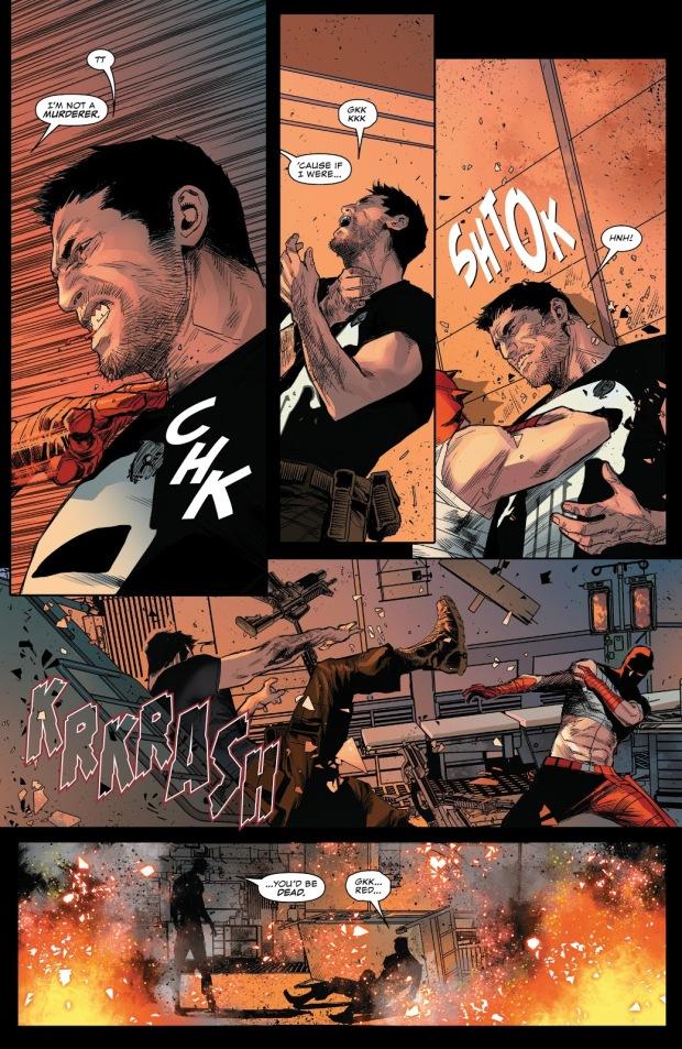 Daredevil VS The Punisher (Daredevil Vol. 6 #4)