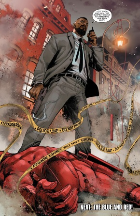 Detective Cole North Shoots Daredevil