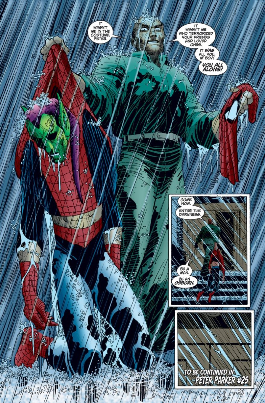 From – The Amazing Spider-Man Vol. 2 #25