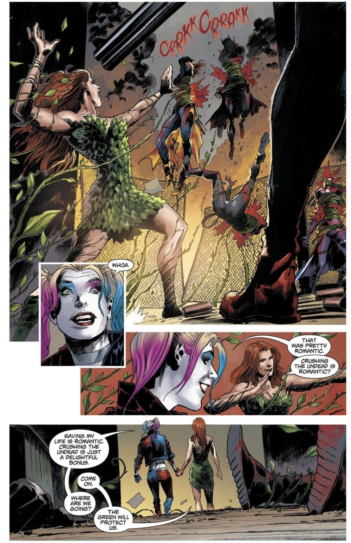 Poison Ivy Kills The Birds Of Prey (Dceased)