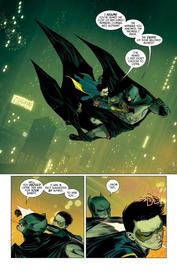 Robin VS Batman (Thomas Wayne)