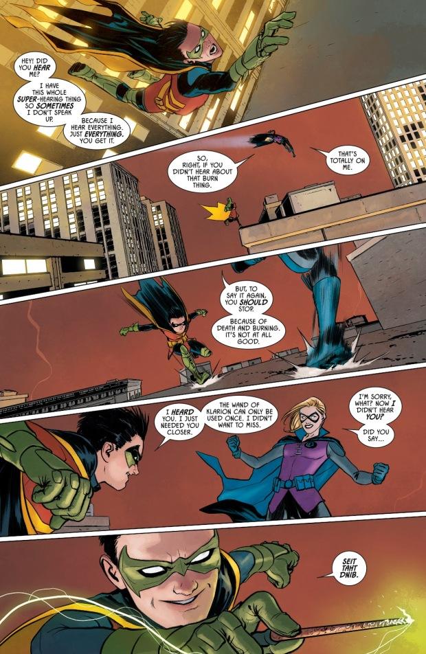 Robin VS Gotham Girl