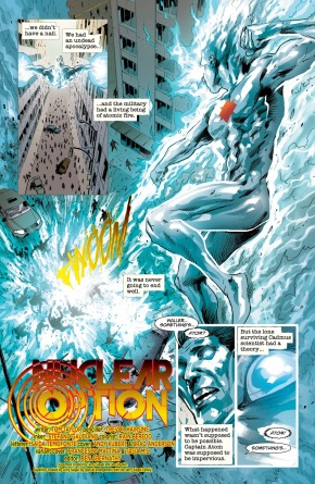 The Atom Kills Captain Atom (Dceased)