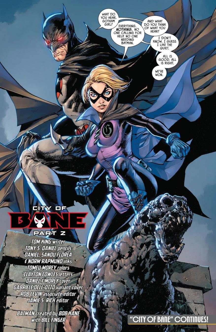 Batman Thomas Wayne And Gotham Girl