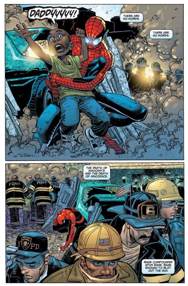 Captain America During September 11