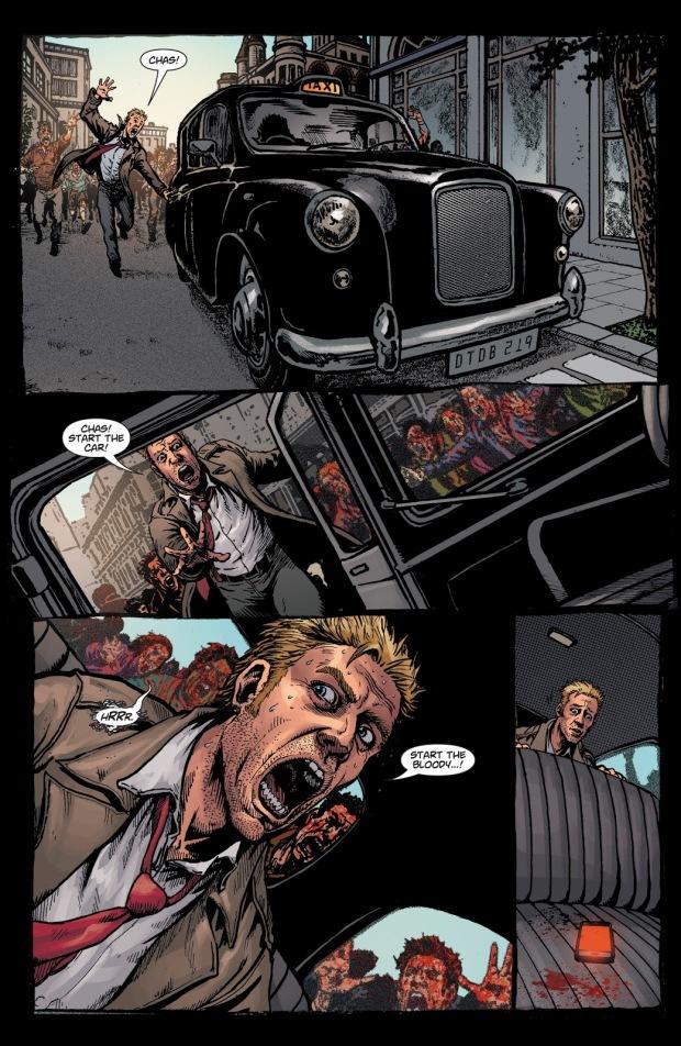 Constantine Kills Chas (DCeased)