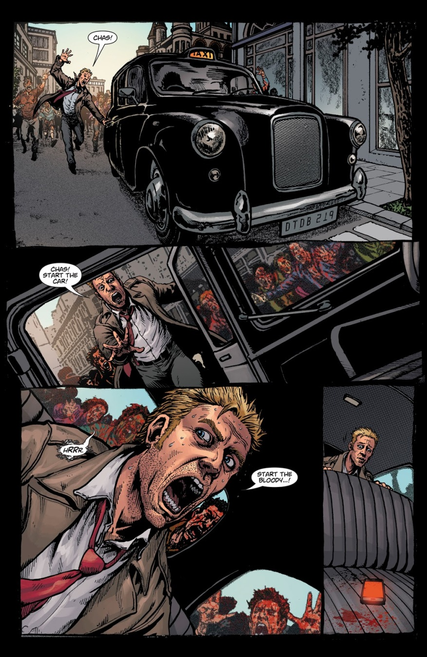 Constantine Kills Chas (DCeased)