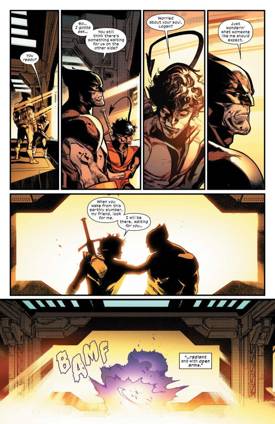 Death Of Nightcrawler And Wolverine (House Of X)