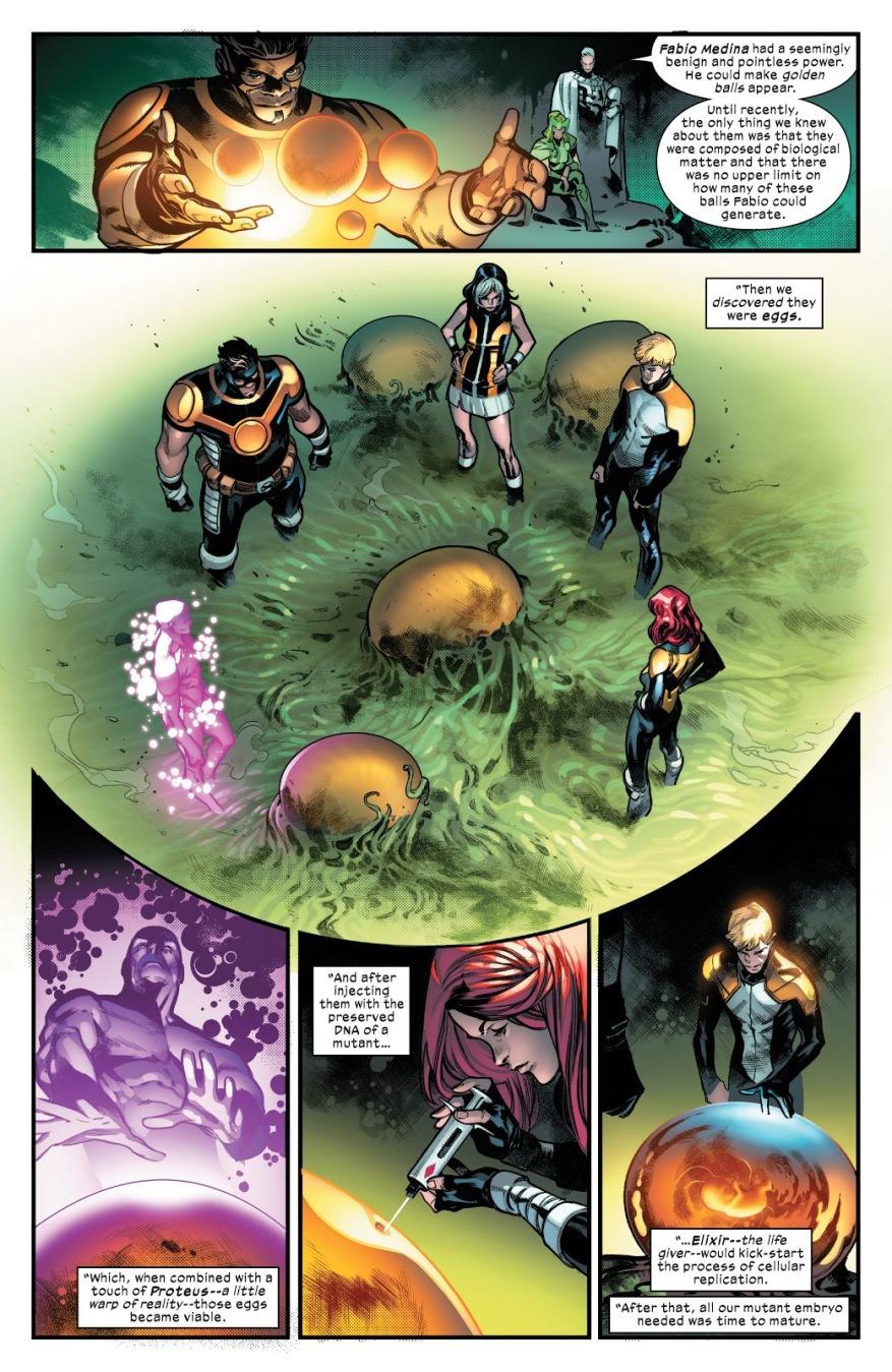How Krakoans Clone Mutants (House Of X)