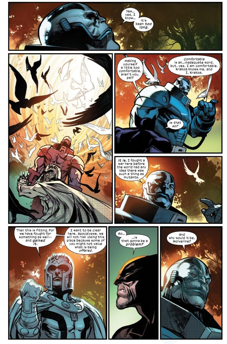 Professor X Welcomes Apocalypse To Krakoa