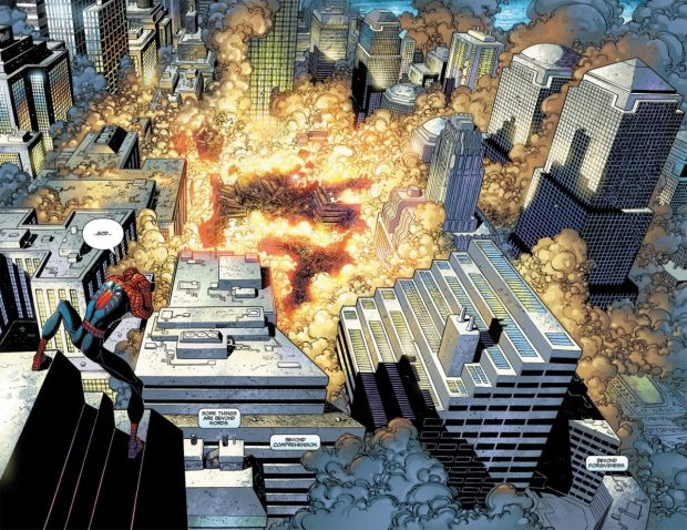 Spider-Man During September 11