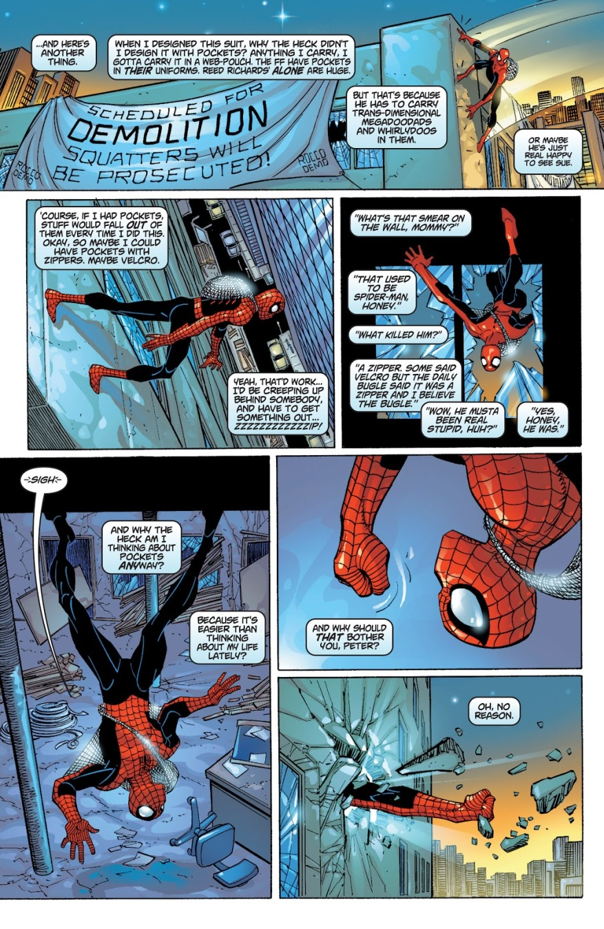 Spider-Man Wrecks A Building