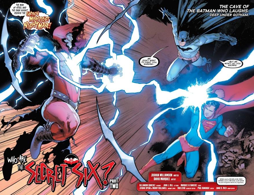 Superman And Batman VS The Shazam Who Laughs