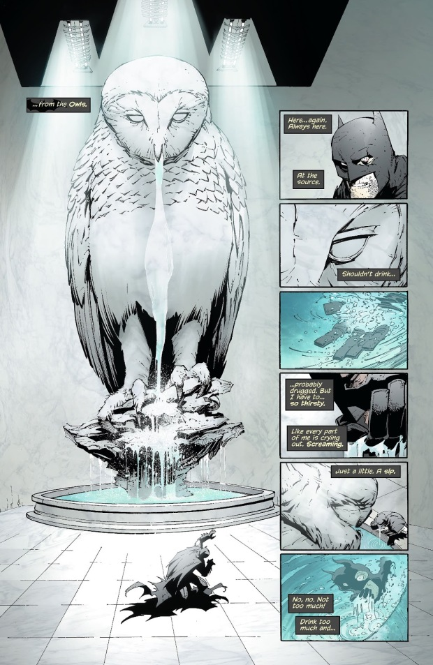 Batman Trapped In The Court Of Owls Labyrinth