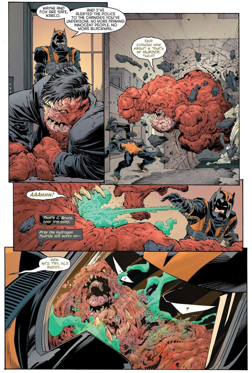 Batman VS Clayface (New 52)