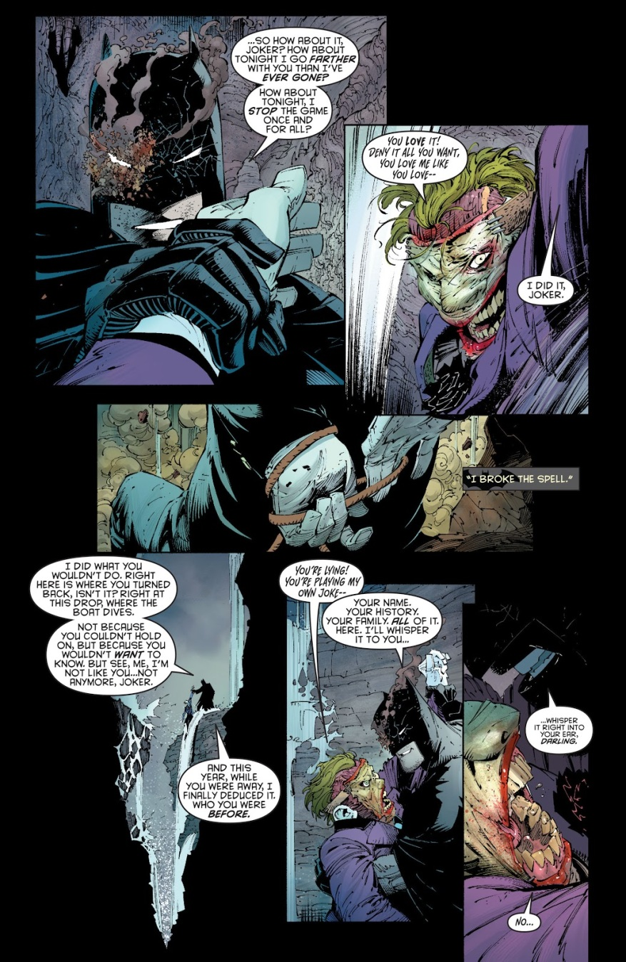 Batman VS The Joker (Death Of The Family)