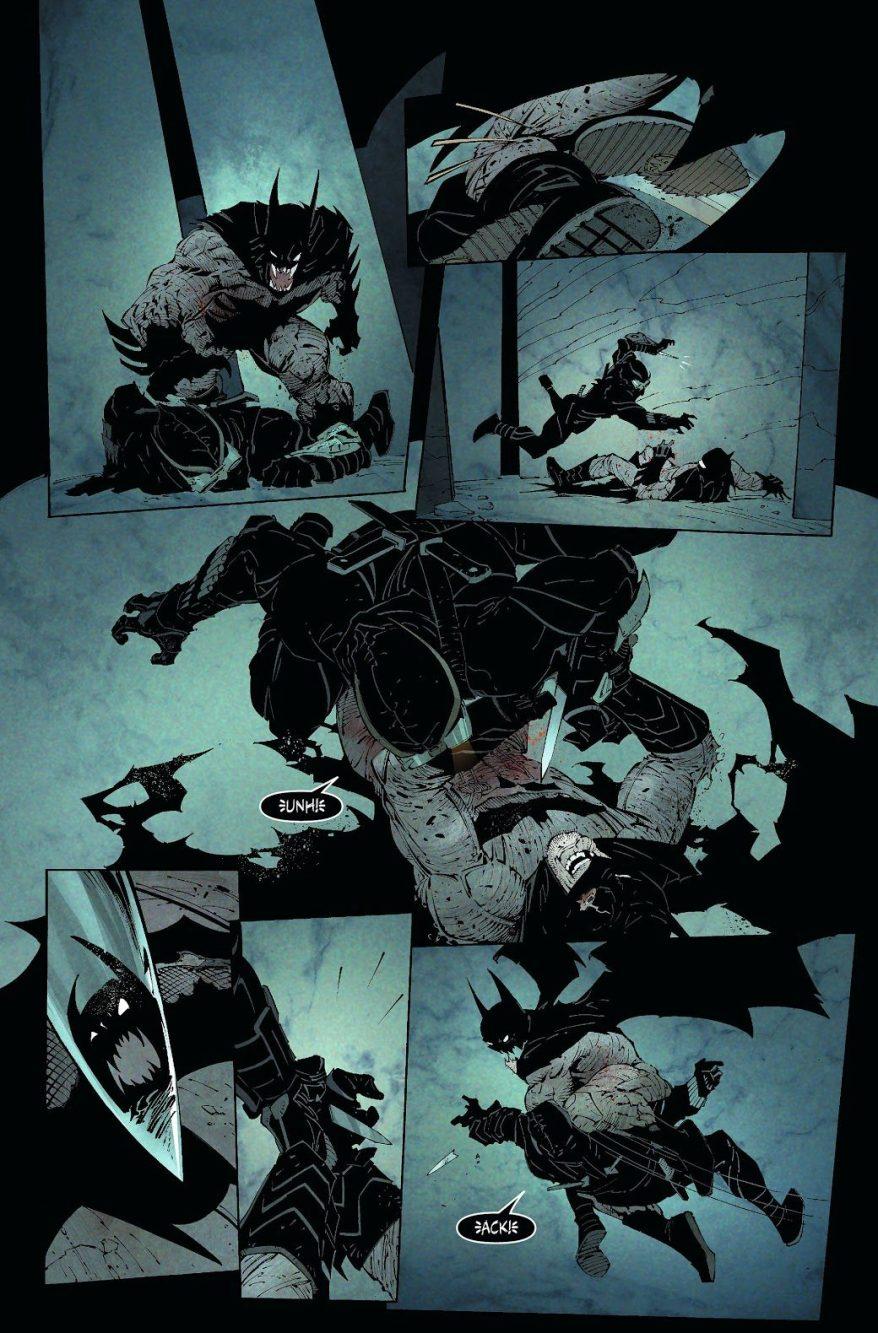 Batman VS The Talon (New 52)