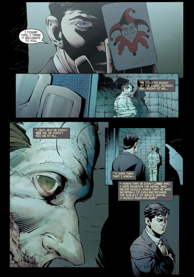 Bruce Wayne Reveals His Secret Identity To The Joker