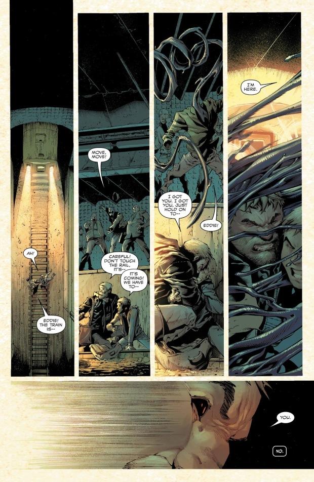 Eddie Brocks Becomes Venom Again (Absolute Carnage)