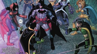 Flashpoint Batman VS The Bat Family